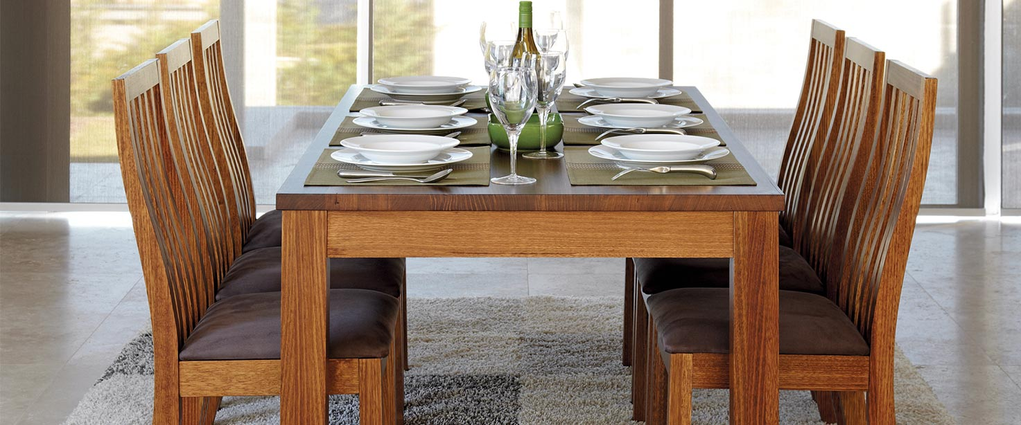 dining room furniture brisbane | Tasmanian Oak Dining Table | Solid Timber Dining Table ...